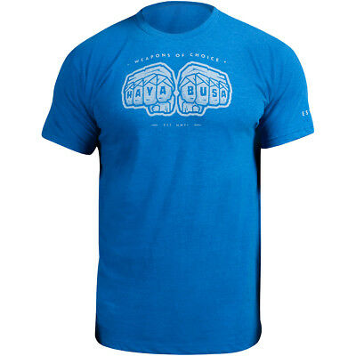 Hayabusa Weapons of Choice T-Shirt - Blue