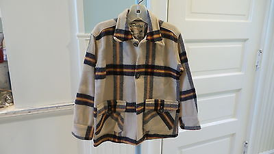 Child's CONCORDIA Timberline WOOL PLAID JACKET Made in Canada