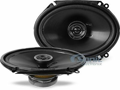 "(4) PIONEER 500W 6 x 8"" 2-Way G-Series Coaxial Car Stereo Speakers 