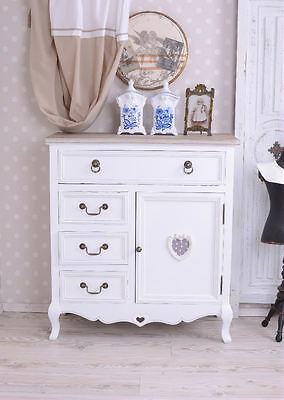 Nostalgia Wardrobe Vintage Bread Cabinet Drawer Cabinet Country House Style