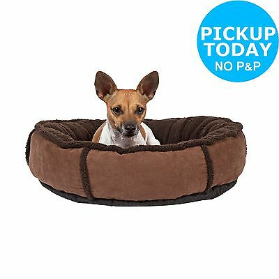 Suede Pet Donut Bed. From the Official Argos Shop on ebay
