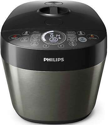 Philips 6L Electric Digital Automatic Non-stick Fast/Slow Pressure Cooker HD2145