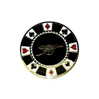 Arsenal Casino Golf Ball Marker - Chip Fc Official Foot Licensed Product