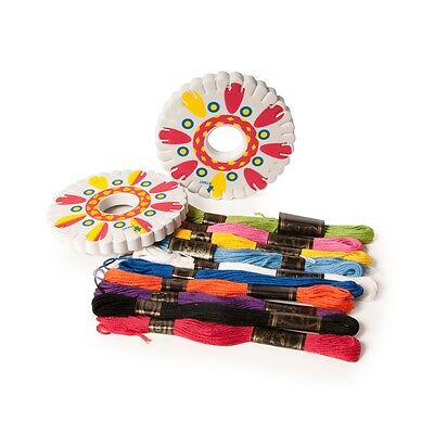 Make Your Own Friendship Bracelet Set - Wheel Activity Craft Kit Makes 10 Ages