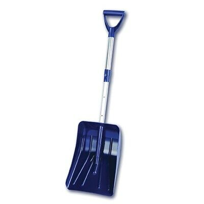Extending Compact Shovel With Aluminium Pole - Snow Muck Scoop Mucking Out Car