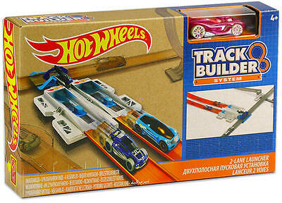 Hot Wheels Playset Track Builder System - 2-Lane Launcher - DJD68 - New