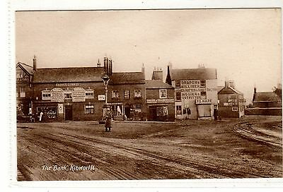 Leicestershire. Kibworth. The Bank.