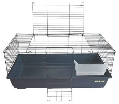 Heritage Rabbit 100 Cage Large Indoor Hutch Cages Guinea Pig Home Bunny Run Pen
