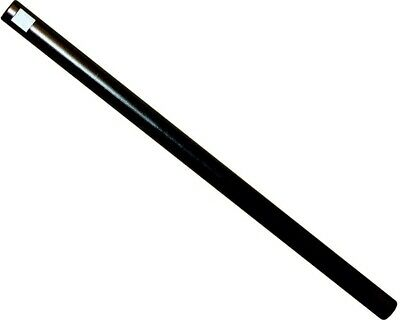 Track / Tie Rod 275mm x M8 Round Black UK KART STORE