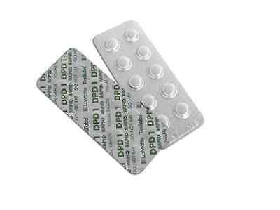 50 x  DPD No. 1 CHLORINE, BROMINE SWIMMING POOL TEST TABLETS