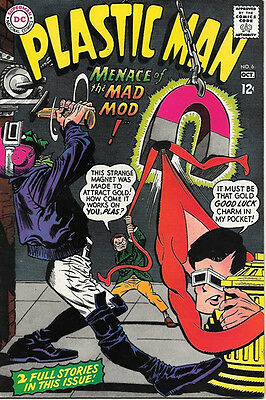 Plastic Man Comic Book #6, DC Comics 1967 VERY FINE-
