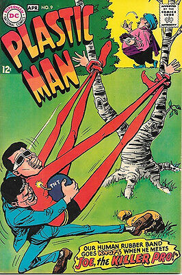 Plastic Man Comic Book #9, DC Comics 1968 FINE+