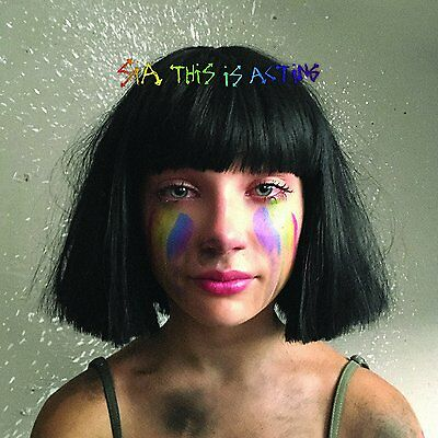 SIA - THIS IS ACTING: DELUXE CD ALBUM (Released 21st October 2016)