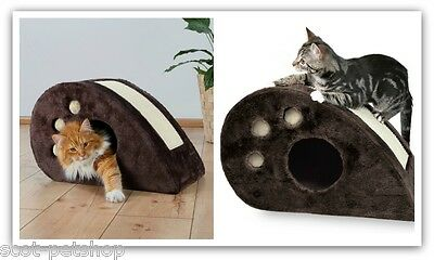 Topi Scratching Mouse Trixie Cat Kitten Sisal Scratching Cave