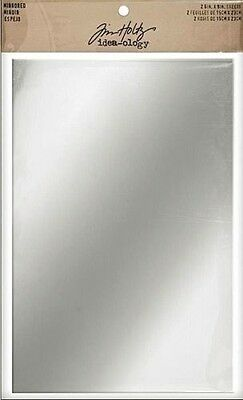 Tim Holtz  Idea-ology   Mirrored Sheets  Adhesive Backed Mirror