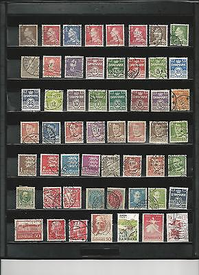 Denmark -  Selection Of Used Stamps - Dan1