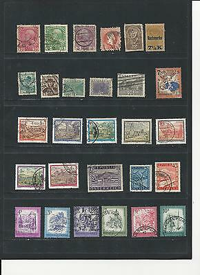 AUSTRIA -  SELECTION OF USED STAMPS - AST2ab  2 photos