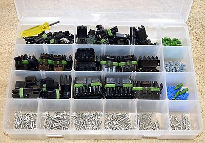 Delphi Weather Pack Connector Master Kit #7Xl  972 Pieces   Weatherpack
