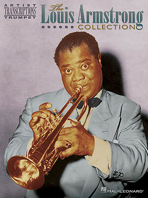 Louis Armstrong Collection Trumpet Sheet Music 16 Jazz Transcriptions Book NEW