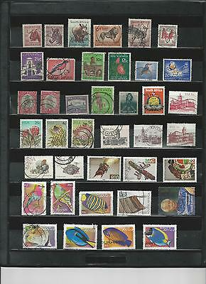 South Africe - Selection Of Used Stamps - Rsa10