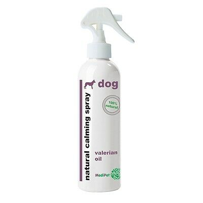 250ml 100% Natural Dog Calming Spray - Medipet 100% Reduce Barking Stress Pets