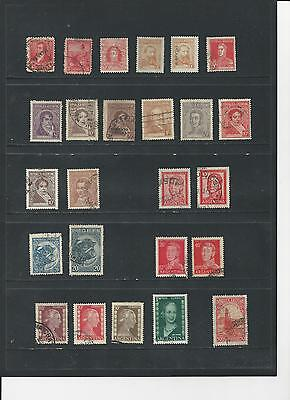 ARGENTINA - SELECTION OF USED STAMPS - #ARG1ab 2 photos