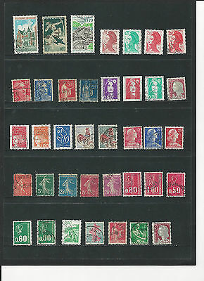 FRANCE - SELECTION OF USED STAMPS - #FRA3ab  2 photos