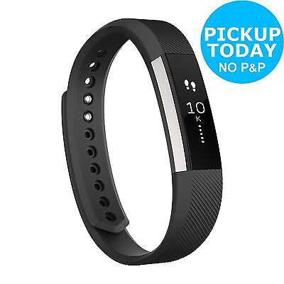 Fitbit Alta Activity and Sleep Large Wristband - Black :The Official Argos Store