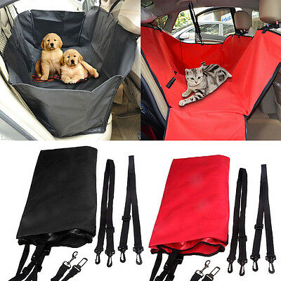 Travel Car Seat Hammock Cover Protector Safety Mat Waterproof for Pet Dog Cat VF
