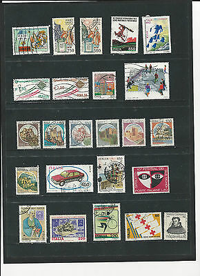 ITALY - SELECTION OF USED STAMPS - ITA2ab 2 photos