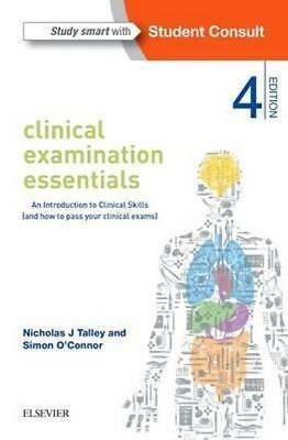 NEW Clinical Examination Essentials By Talley Paperback Free Shipping