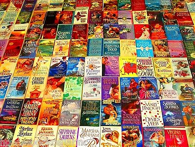 "Historical Romance Paperback Book Lot ""INSTANT COLLECTION"" 20 (POUNDS)"