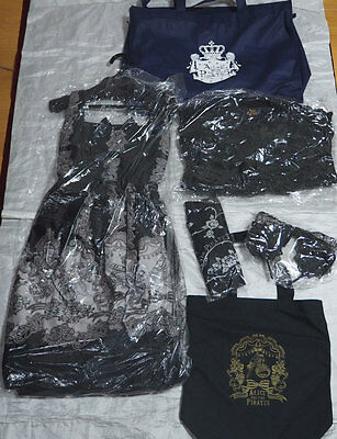 ALICE AND THE PIRATES lucky pack 5 items set BLACK blouse & jumper skirt 2013