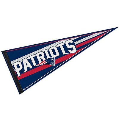Officially licensed New England Patriots NFL Pennant