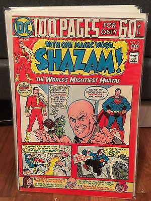 SHAZAM! #15 VF, 100 Page Giant, Captain Marvel, Billy, Mary, DC Comics 1974
