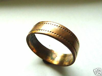 Medieval bronze ring. (242)
