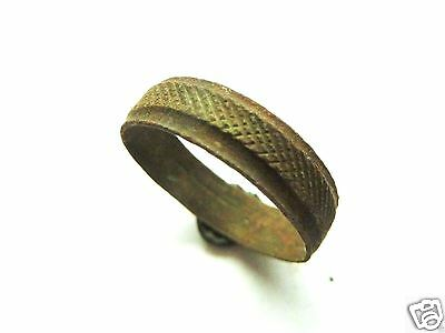 Medieval bronze ring. (165)
