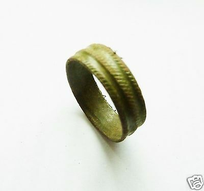 Medieval bronze ring. (215)