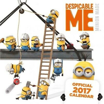 Despicable Me 30cm 2017 Wall Calendar with Free UK P&P