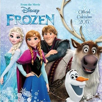 Frozen 30cm 2017 Wall Calendar with Free UK P&P