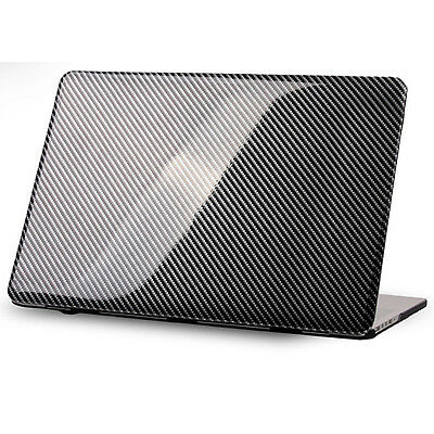 """Cover Sleeve Hard Protection Case for MacBook 15"""" inches Retina Carbon /R396"""