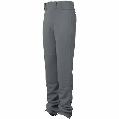 Easton Adult Graphite Grey Large Quantum Plus Baseball Pants Adjustable Hem