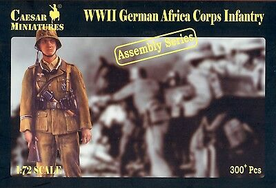 Caesar Miniatures 7713 - German Africa Corps Infantry 1:72