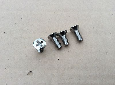 Mg Mgb , mgc chrome gear ring surround screw set 1968-1971 bd5-e1