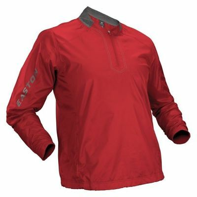 Easton Red Youth Large Magnet Batting Jacket Long Sleeve Pullover