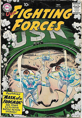 Our Fighting Forces Comic Book #35, DC Comics 1958 VERY GOOD