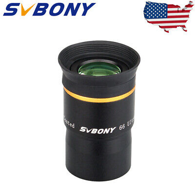 """SVBONY 1.25""""FMC 4-elements15mm Ultra Wide Angle Eyepiece for Astro Telescope US"""