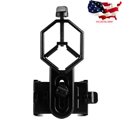 Hot Universal Telescope Cell Phone Mount Adapter for Monocular Spotting Scope US