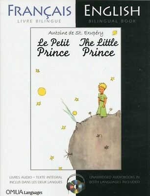 The Little Prince: A French/English Bilingual Reader (Includes audio CD) (Paper.