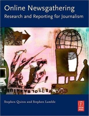 Online Newsgathering: Research and Reporting for Journalism (Pape...
